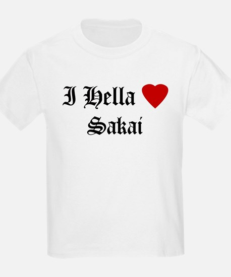 Hella Love Sakai Kids T-Shirt