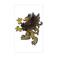 Gryphon Rectangle Decal