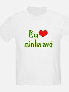 I Love Grandma (Port/Brasil) T-Shirt