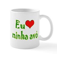 I Love Grandma (Port/Brasil) Mug