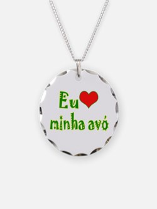 I Love Grandma (Port/Brasil) Necklace