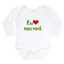I Love Grandpa (Port/Brasil) Long Sleeve Infant Bo