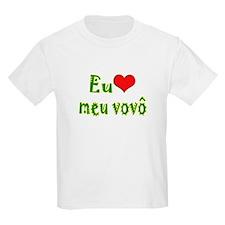 I Love Grandpa (Port/Brasil) T-Shirt
