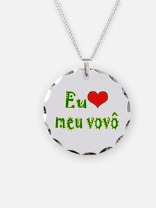 I Love Grandpa (Port/Brasil) Necklace