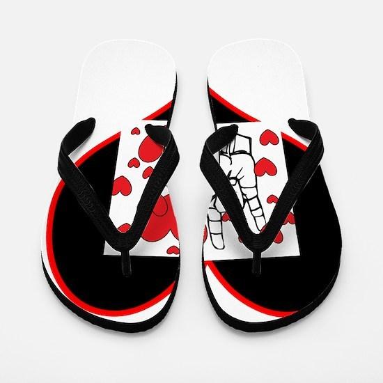 Unique Deaf Flip Flops