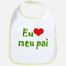 I Love Dad (Port/Brasil) Bib