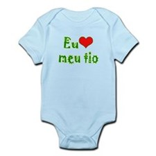 I Love Uncle (Port/Brasil) Infant Bodysuit