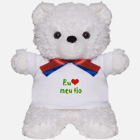 I Love Uncle (Port/Brasil) Teddy Bear