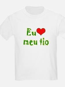 I Love Uncle (Port/Brasil) T-Shirt