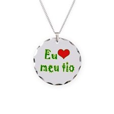 I Love Uncle (Port/Brasil) Necklace