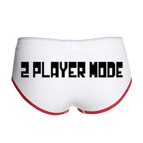 2 PLAYER MODE Women's Boy Brief