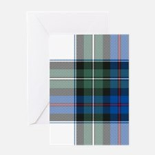 Tartan - MacKenzie dress Greeting Card