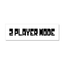 2 PLAYER MODE Car Magnet 10 x 3