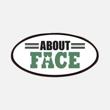 About Face Military Patches