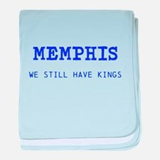 Cute Memphis tigers baby blanket