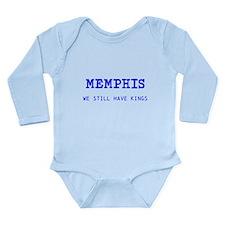 Cute Memphis tigers Long Sleeve Infant Bodysuit