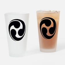 Shinto Tomoe [Cosmos] Drinking Glass