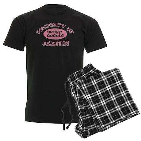 Property of Jazmin Men's Dark Pajamas