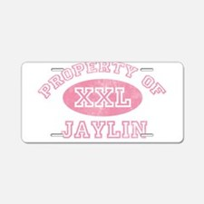Property of Jaylin Aluminum License Plate