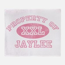 Property of Jaylee Throw Blanket