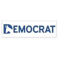 Democrat Word Car Sticker