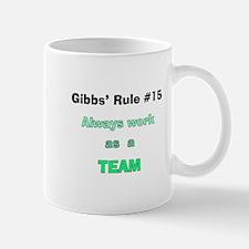 NCIS Gibbs' Rule #15 Mug