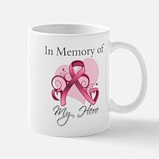 In Memory Hero Breast Cancer Mug