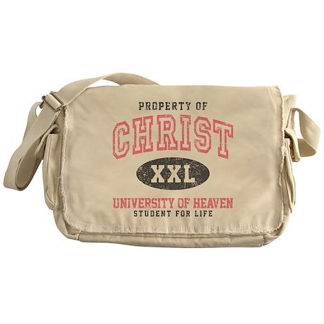 Property of Christ Messenger Bag