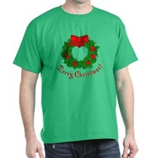 Christmas Wreath T-Shirt