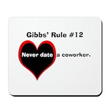 NCIS Gibbs' #12 Mousepad