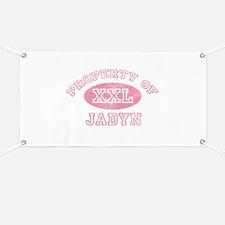 Property of Jadyn Banner