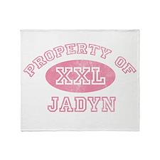 Property of Jadyn Throw Blanket