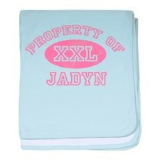 Property of Jadyn baby blanket