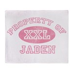 Property of Jaden Throw Blanket