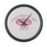 Property of Ivy Large Wall Clock