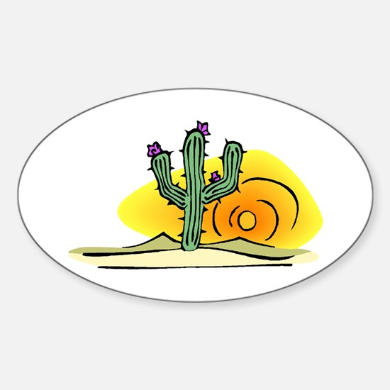 Cactus1942 Oval Decal