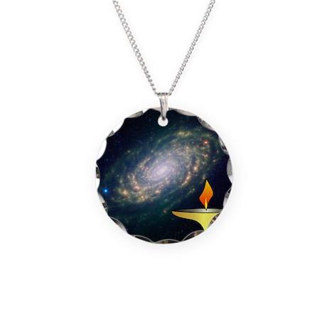 UU Chalice Necklace Circle Charm