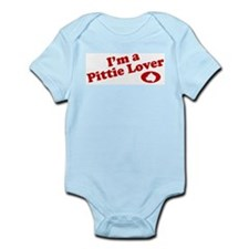 I'm a Pittie Lover! Infant Creeper