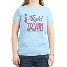 I Fight Win Breast Cancer T-Shirt