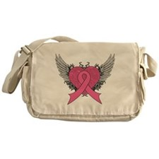 Cool Wings Breast Cancer Messenger Bag