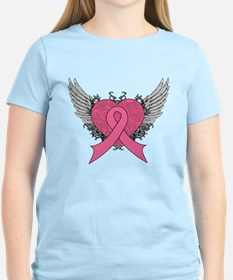 Cool Wings Breast Cancer T-Shirt