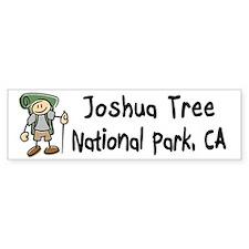 Hike Joshua Tree (Boy) Bumper Sticker
