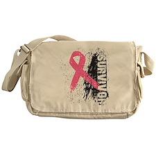 Pink Ribbon Survivor Messenger Bag
