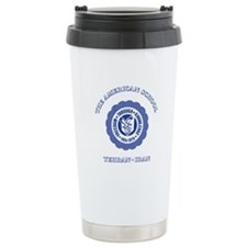 TAS Blue Ceramic Travel Mug