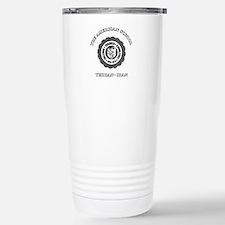 TAS Black Stainless Steel Travel Mug