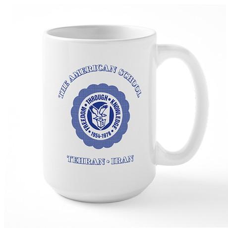 TAS Blue Large Mug