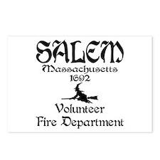 Salem Fire Department Postcards (Package of 8)