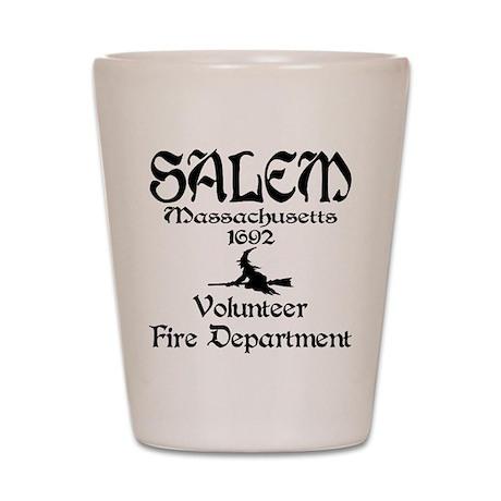 Salem Fire Department Shot Glass