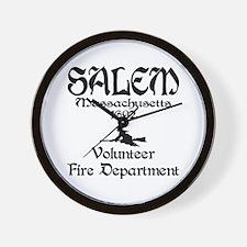 Salem Fire Department Wall Clock