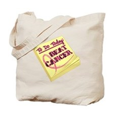 To Do Beat Breast Cancer Tote Bag